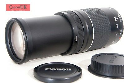 Canon EF 75-300mm mkIII Telephoto Zoom Lens   *For ALL Canon DSLRs*   *FREE P&P*