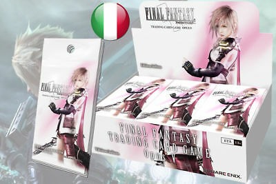 Final Fantasy Trading Card Game Opus V Boosters Box 36 Buste Italiano