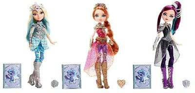 Ever After High Dragon Games Doll Raven Queen - Darling Charming - Holly O'Hair