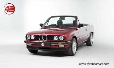 FOR SALE: BMW E30 320i Cabriolet Auto 2.0 1990 /// Just 50k Miles