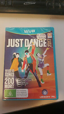 [Brand New, Sealed] Nintendo Wii U Just Dance 2017