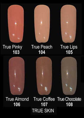 Organic Nails Color TRUE SKIN Color Group Set