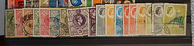 Swaziland (1933-74) various issues ALL DIFFERENT, INCOMPLETE SET Fine used