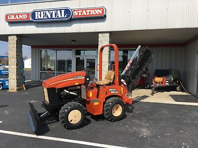 2006 Ditch Witch RT40 4x4 Ride-On Trencher Backfill Blade used -Reconditioned