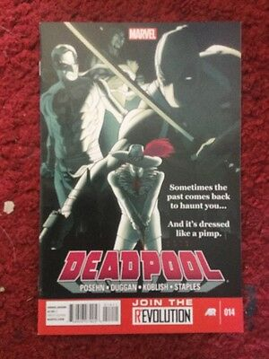 Deadpool #14 Vol.3 Rare Marvel Comic Vfn/nm