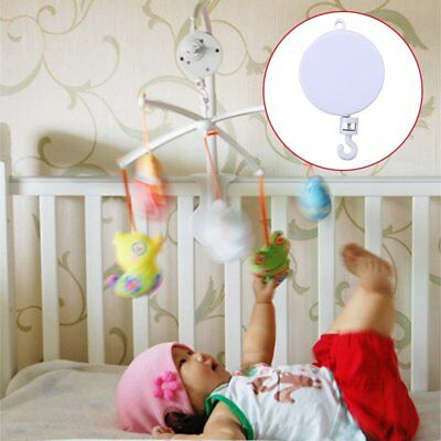 Rotary Baby Kids Crib Mobile Bed Bell Toy Holder Arm Bracket Hanging Music Box