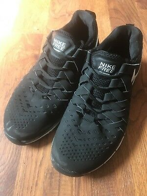 ffeaa7c4307ec Nike Free Trainer Running Shoes Mens Size 10 Black White