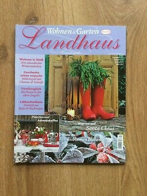Wohnen Garten Landhaus Zeitschrift wohnen garten landhaus zeitschrift ausgabe 1 januar februar