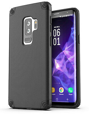 Galaxy S9 Plus Protective Case Heavy Duty Tough Shockproof Slim Phone Cover