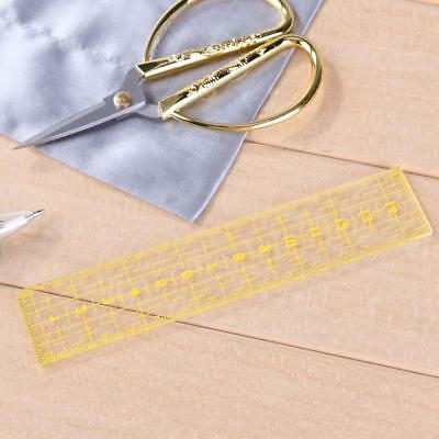 DIY Multi-function Handmade Quilting Sewing Ruler Patchwork Drawing Rulers