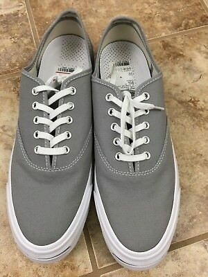 3e90efb508001f Converse Jack Purcell JP Signature Series Ox Sneaker Dolphin Gray Size 11  18323