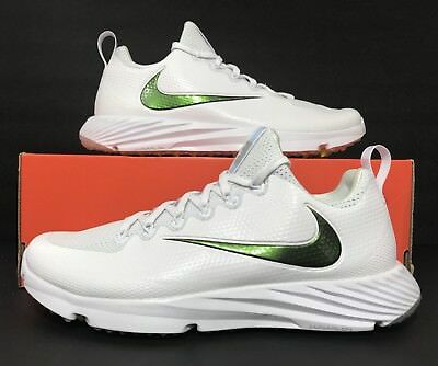 Nike Vapor Speed Turf Football Trainer White Wolf Grey 833408-112 Mens Size  8