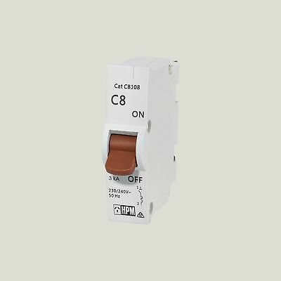 Four Hpm Plug In Circuit Breakers  8A-16A-20A-32A- Brand New