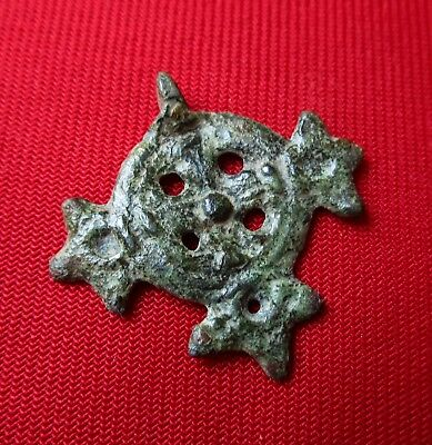 Ancient CELTIC PENDANT .Bronze . circa 100 BC.