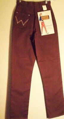 Vintage NOS Maverick Brown High-Waisted Jeans with Tags