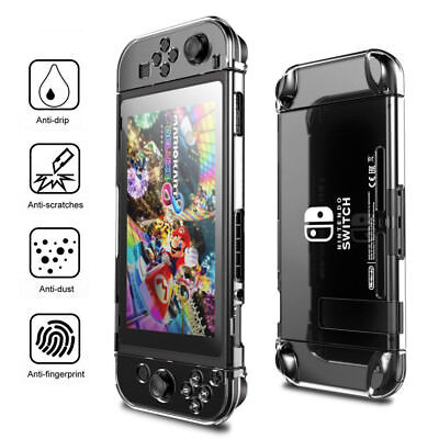 Transparent Clear Shockproof Protective Hard Case Skin Cover Fr Nintendo Switch