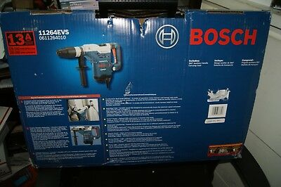 "Bosch 11264Evs  Rotary Hammer Drill 1-5/8"" Sds-Max  13.0 Amps New"