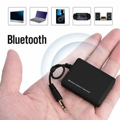 Mini Wireless Bluetooth Transmitter A2DP Stereo 3.5mm Audio Adapter for PC Phone