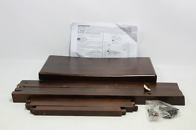 Winsome Saddle Seat 24 Inch Counter Stool Walnut 94084 Preowned