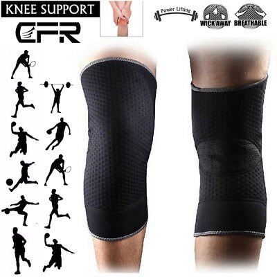 Sports Knee Support Patella Sleeve Compression Brace Pain Relief Running Jogging