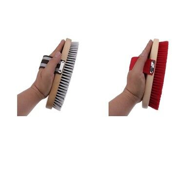 Horse Brush Mane Tail Hair Comb with Hand Strap Tool for Equestrian Grooming