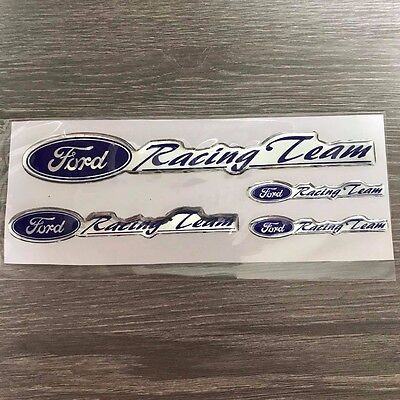 FORD racing sticker set Resin Badge Logo Decal Emblem Ranger Focus Escape