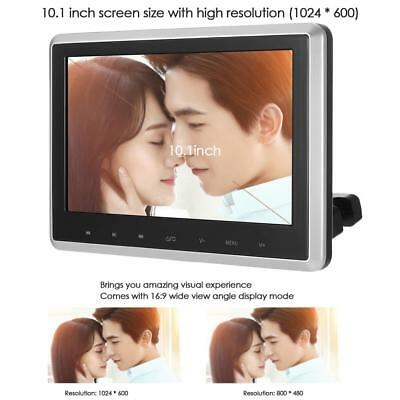 "10.1"" TFT Headrest Monitor HD Digital Car DVD Player Portable IR/FM Game USB/SD"