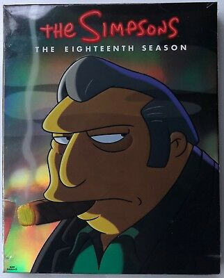 New The Simpsons The Eighteenth Season Dvd 4 Disc Set Free World Wide Shipping