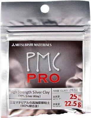 Mitsubishi PMC Pro Precious Metal Clay 25g Silver Art Clay (22.5g Silver Weight)