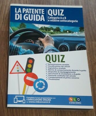 La patente di guida. Quiz. Categorie A e B e relative sottocategorie.