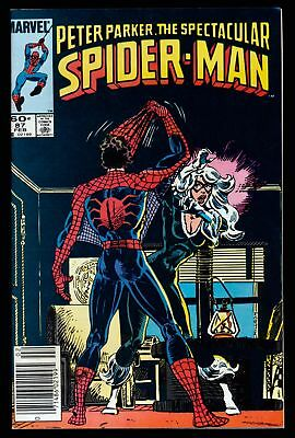 The Spectacular Spider-Man (1976 Series) # 87 - Feb 1984 | 6.0 FN