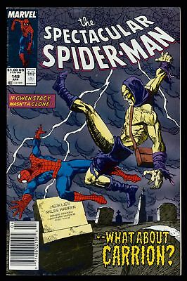 The Spectacular Spider-Man (1976 Series) # 149 - Apr 1989 | 6.0 FN