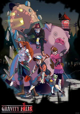 "048 Gravity Falls - Disney Mabel Pines USA Cartoons 14""x19"" Poster"