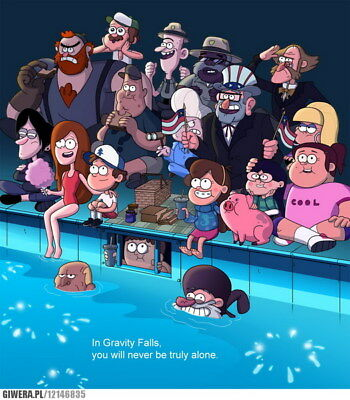 "043 Gravity Falls - Disney Mabel Pines USA Cartoons 14""x16"" Poster"