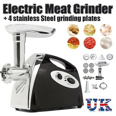 Commercial Electric Meat Grinder Mincer Sausage Maker Mincing Machine 2800W