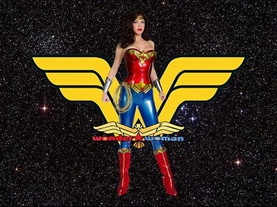 """050 Wonder Woman - Sexy Girl Justice League USA Hero 18""""x14"""" Poster"""