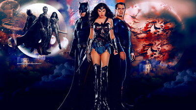 """064 Wonder Woman - Sexy Girl Justice League USA Hero 42""""x24"""" Poster"""