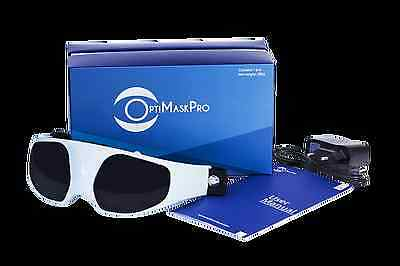 OptiMask Pro Relaxation Magnetic Acupuncture Eye Massager From Manufacturer