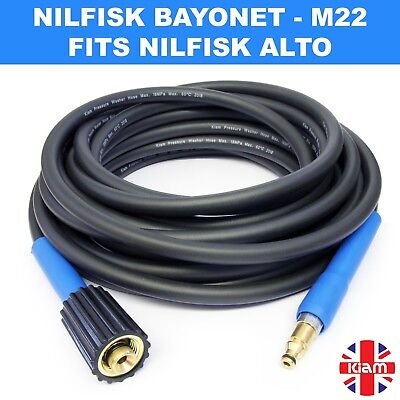 5//10//15M M22 HIGH PRESSURE WASHER HOSE FOR NILFISK C100 C110 C120 C130 SMART