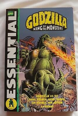 MARVEL ESSENTIAL: GODZILLA KING OF MONSTERS (Graphic Novel Paperback)