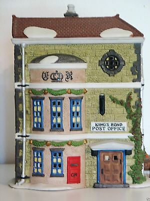 """Dept. 56 Dickens Village """"KINGS ROAD POST OFFICE"""" with Original Box #58017"""