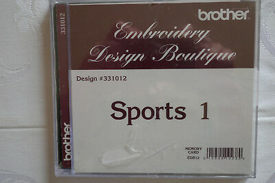 Brother Stickkarte Sports1 Embroidery Design Boutique 10 x 10cm
