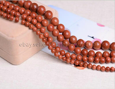 Natural Gold Sand Gemstone Round Beads 15.5'' 2mm 3mm 4mm 6mm 8mm 10mm 12mm