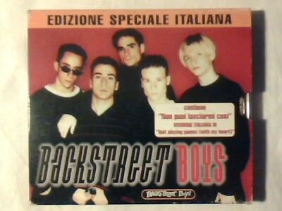 BACKSTREET BOYS Omonimo Same S/t cd ITALY TRACK IN ITALIAN