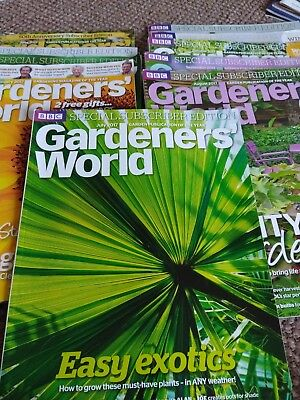 gardeners world magazine bundle