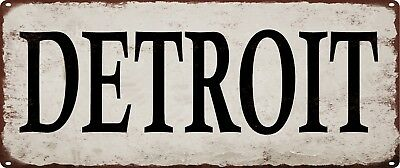 Library Metal Sign Vintage Look Rustic Metal Sign Retro Man cave 5x12 SS3