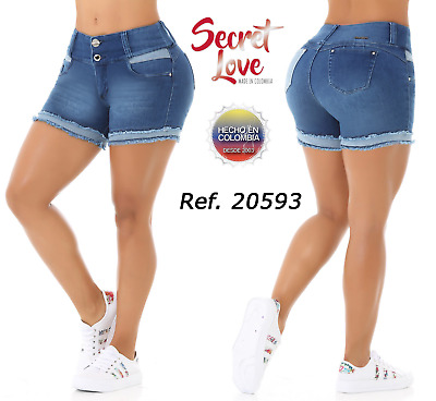 SECTRET LOVE, Short Colombianos, Authentic Colombian Push Up Short, Levanta Cola