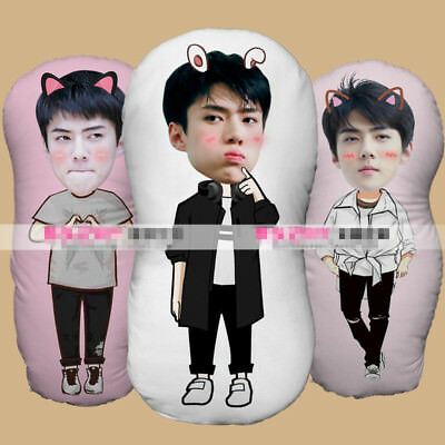 KPOP EXO Oh SeHun Plush Pillow Doll Toy Cushions DIY Birthday Gift SE HUN
