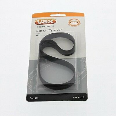 Genuine Vax Replacement Belt Kit (Type 23) Dual Power Carpet Cleaner W86-DP-P