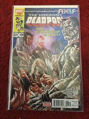 Deadpool #38 Vol.3 Marvel Comic Vfn/nm